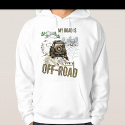 Bluza My Road Is Off-Road