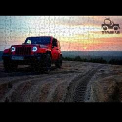 Puzzle terenwizja