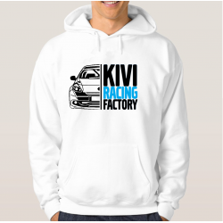 "Bluza ""KIVI RACING"" WHITE"