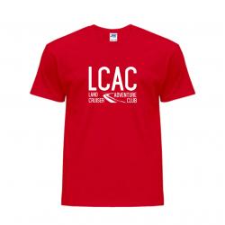 Koszulka czerwona Landcruiser