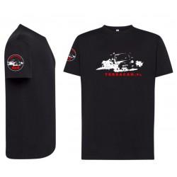 T-shirt czarny terracan
