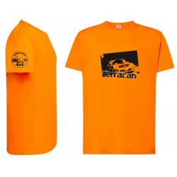 -shirt pomarańczowy terracan