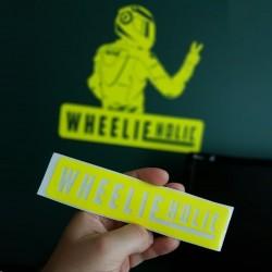 Wlepa WheelieHolic