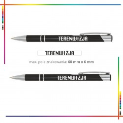Długopis metalowy Terenwizja