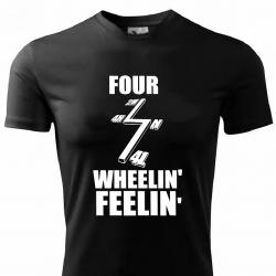 Koszulka Four Wheelin Feelin