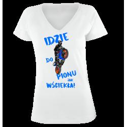 Koszulka damska Idzie Do Pionu