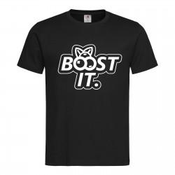 "Koszulka ""BOOST IT"" BLACK"