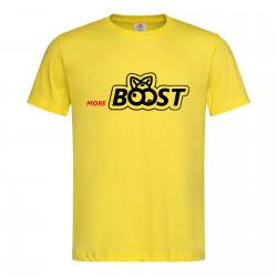 "Koszulka ""more BOOST"" GOLD"